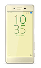 Smartphone Sony Xperia X Occasion Or Lime