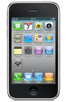apple iphone 3g s 8 go noir pas cher prix et avis. Black Bedroom Furniture Sets. Home Design Ideas