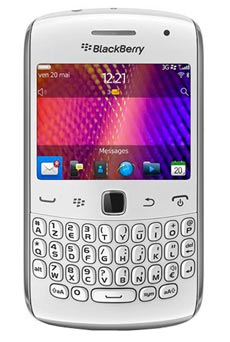 mobiles telephone BlackBerry Curve  Blanc do