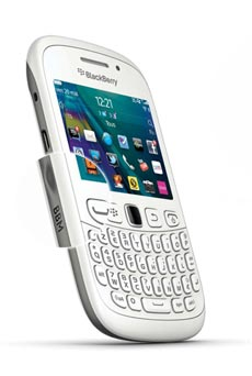 mobiles telephone BlackBerry Curve  Blanc do