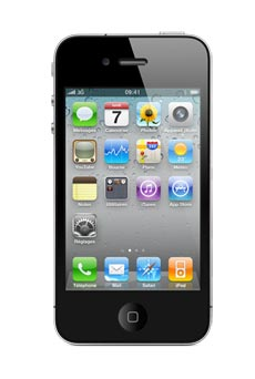 apple iphone 4 16 go occasion noir pas cher prix caract ristiques avis. Black Bedroom Furniture Sets. Home Design Ideas