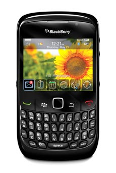mobiles telephone BlackBerry Curve  Noir Occasion do