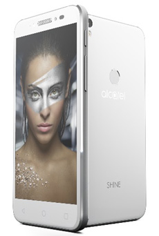 Alcatel Shine Lite Blanc