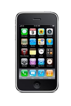 Apple iPhone 3G S 8 Go Noir Occasion