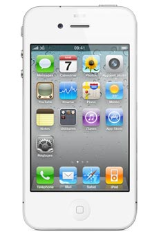 apple iphone 4 32 go blanc occasion pas cher prix caract ristiques avis. Black Bedroom Furniture Sets. Home Design Ideas
