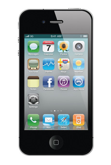 apple iphone 4 reconditionn noir pas cher prix caract ristiques avis. Black Bedroom Furniture Sets. Home Design Ideas