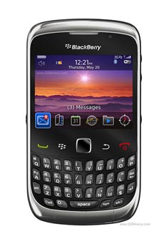 BlackBerry Curve 3G 9300 Noir Occasion