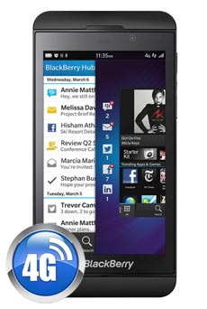 BlackBerry Z10 Noir Occasion