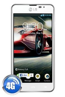 LG Optimus F5 Blanc