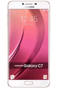 Samsung Galaxy C7 64Go Or Rose