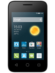 Alcatel One Touch Pixi 3 3.5 pouces Blanc