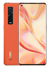 Oppo Find X2 Pro Orange Cuir Vegan