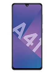 Samsung Galaxy A41 Bleu Prismatique