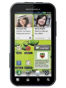 Motorola Defy Plus Noir