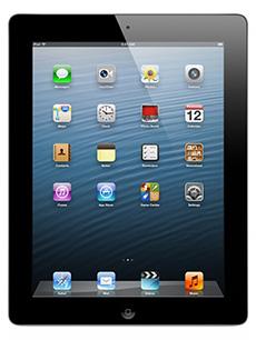 Apple iPad 4 Retina 16Go Noir