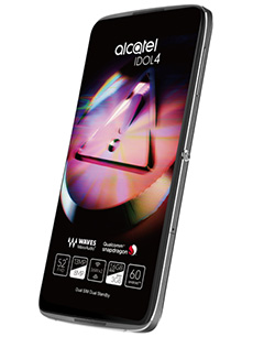 Alcatel Idol 4 Reconditionné Noir