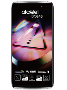 Alcatel Idol 4S Argent