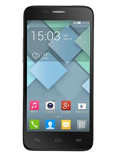 Alcatel one Touch Idol S Gris