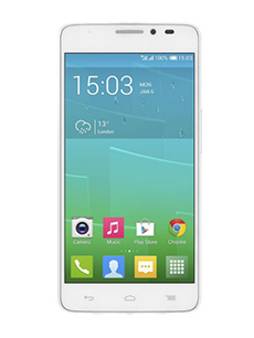 Alcatel One Touch Idol X Double Sim Blanc