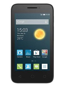 Alcatel One Touch Pixi 3 3.5 pouces Dual Sim Noir