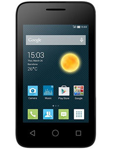 Alcatel One Touch Pixi 3 3.5 pouces Dual Sim Blanc