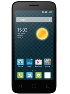 Alcatel One Touch Pixi 3 4.5 pouces Dual Sim Blanc