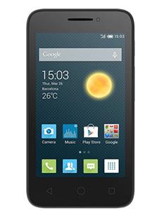 Alcatel One Touch Pixi 3 4 pouces Noir