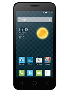 Alcatel One Touch Pixi 3 4 pouces Blanc