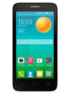 Alcatel One Touch Pop 2 4 pouces Noir