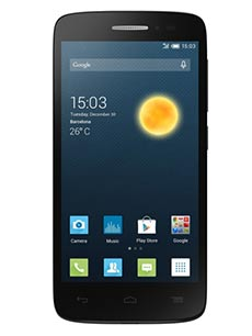 Alcatel One Touch Pop 2 5 pouces Noir