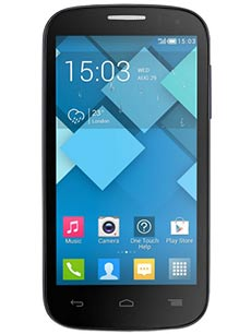 Alcatel One Touch Pop C5 Noir
