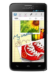Alcatel One Touch Scribe Easy Noir