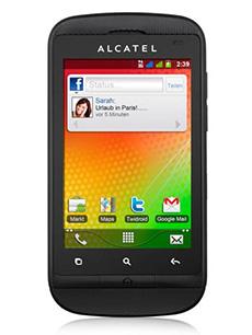Alcatel OT-918D Noir