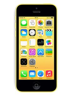 Apple iPhone 5C 16Go Occasion Jaune