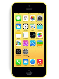 apple iphone 5c 32go reconditionn jaune pas cher prix. Black Bedroom Furniture Sets. Home Design Ideas