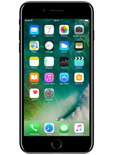 apple iphone 7 plus 256go noir de jais pas cher prix caract ristiques avis. Black Bedroom Furniture Sets. Home Design Ideas