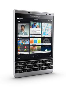 BlackBerry Passport Silver Edition Gris