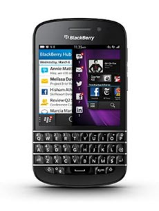 BlackBerry Q10 Noir Occasion
