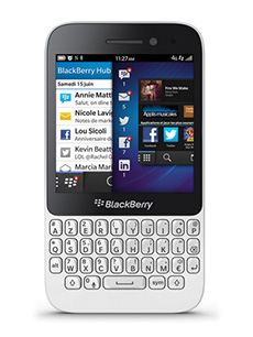 BlackBerry Q5 Blanc