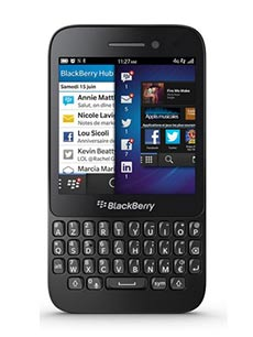 BlackBerry Q5 Occasion Noir