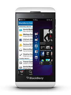 BlackBerry Z10 Blanc Occasion