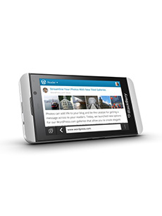 BlackBerry Z10 Blanc