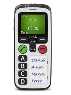 Doro Secure 580 Blanc