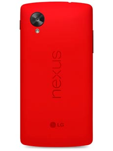 Google Nexus 5 Rouge