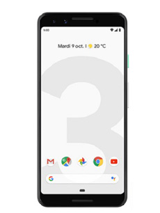 Google Pixel 3 Blanc