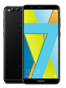 Honor 7X 64Go Noir le smartphone Honor avec Face ID