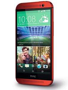 HTC One M8 Rouge