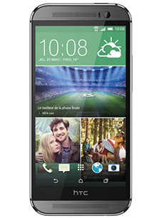 HTC One M8s Reconditionn� Gris
