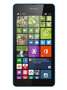 Microsoft Lumia 535 Bleu