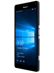 Microsoft Lumia 950 XL Reconditionné Noir